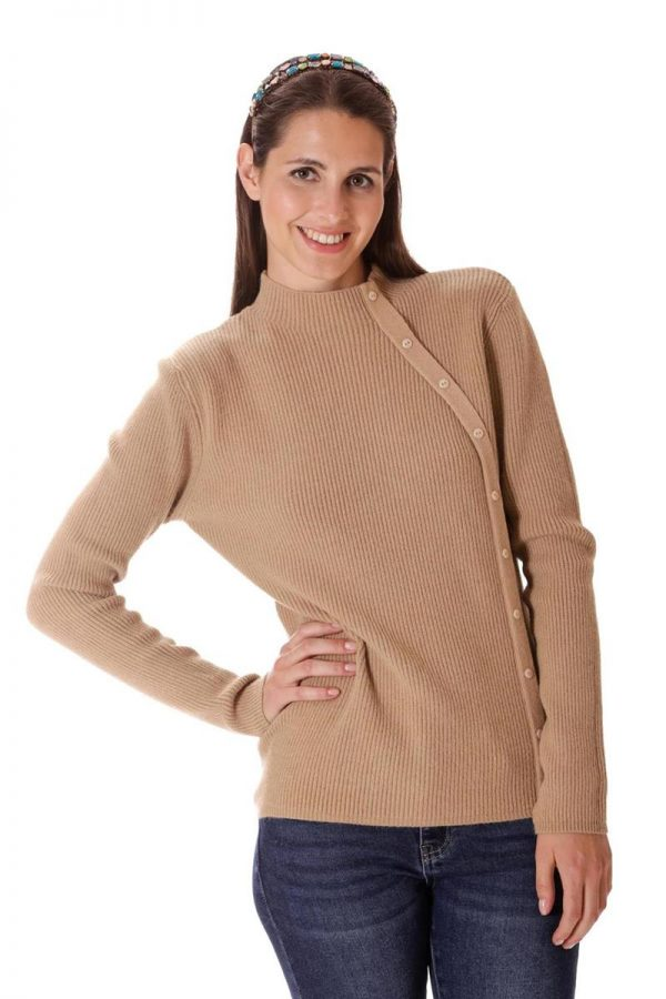 Jersey botones lateral